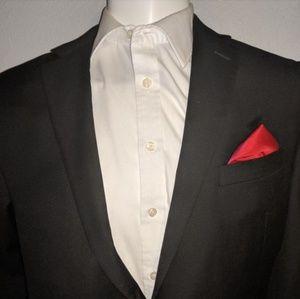 Calvin Klien 42R Black Suit Jacket